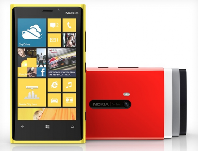 Nokia Windows Phone 8 搭載 Lumia 920 を発表