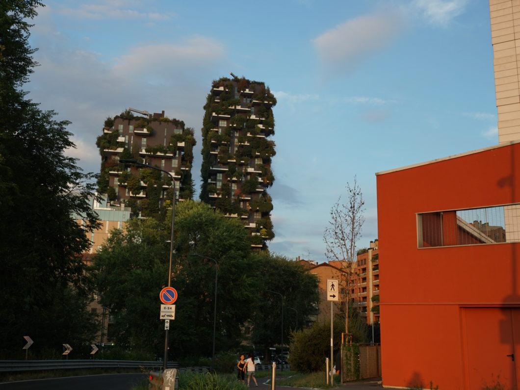 ミラノ 垂直の森 森のマンション