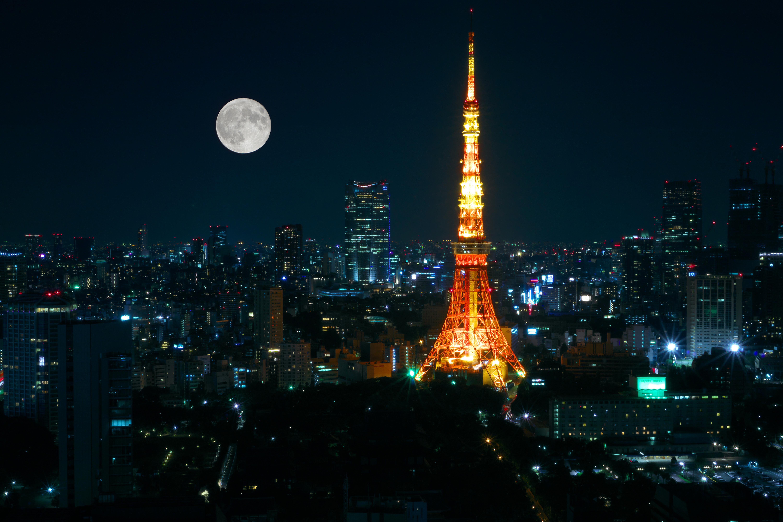 東京タワー,月
