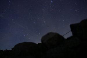 α5100 SEL35F18 で撮影した星空