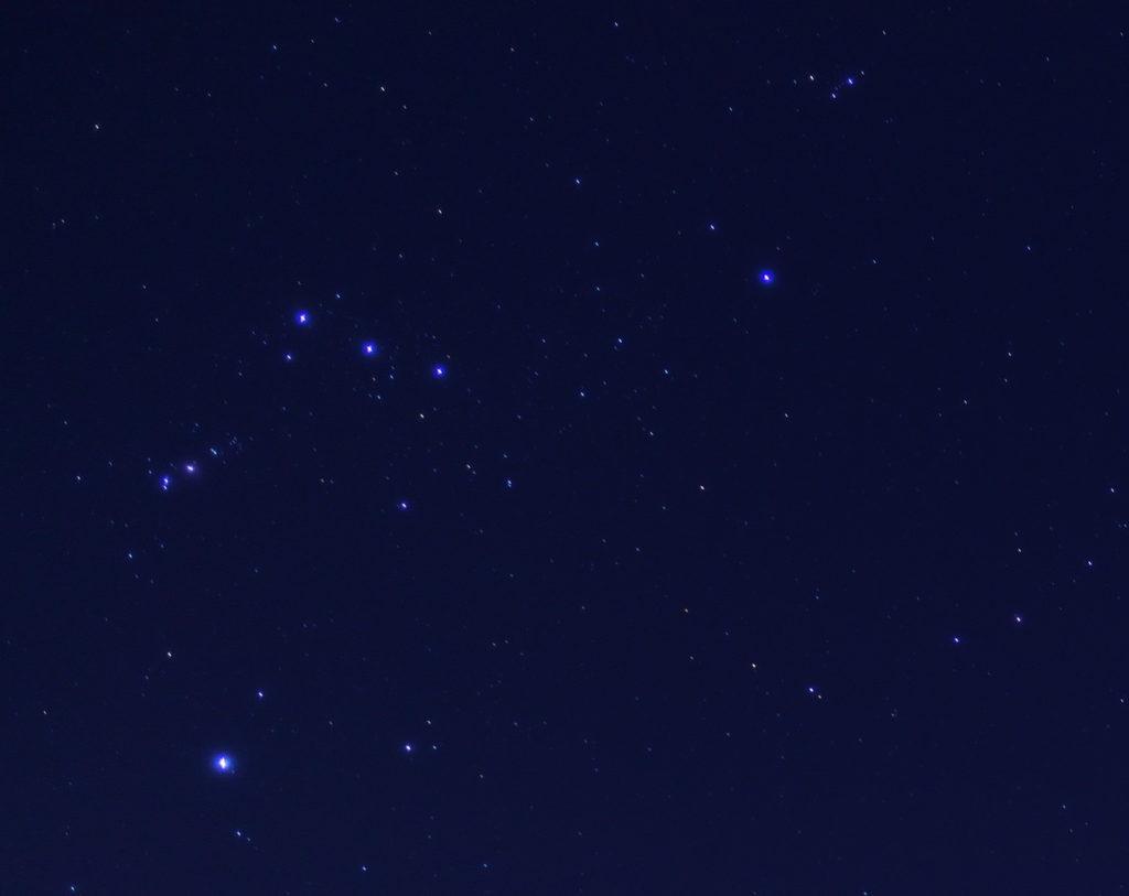 SEL24F18Z a5100 a6000 星空 オリオン座