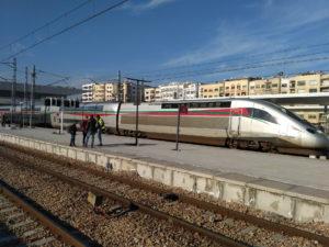 モロッコ 高速鉄道 LGV