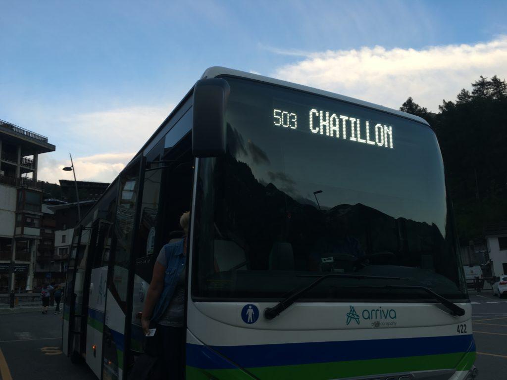 チェルビニア路線バス