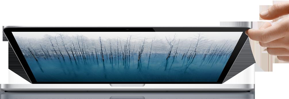 Retina MacBook を触ってきた!