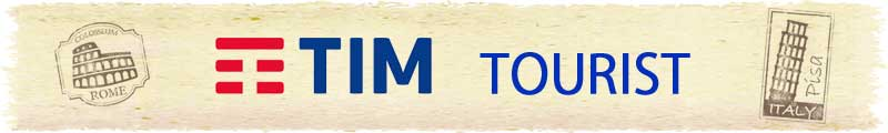 TIM tourist イタリア SIM