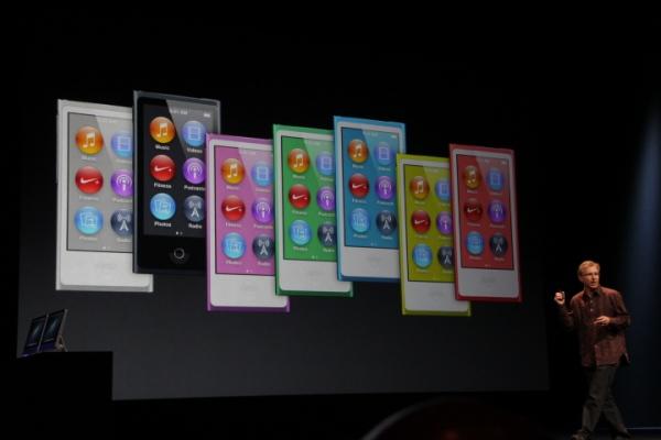 新iPod nano 発表